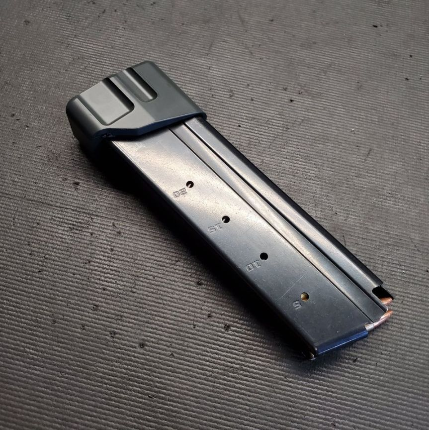 f5 mfg ruger 57 pistol ruger 57 magazine extensions mag plate 5.7x28mm 5