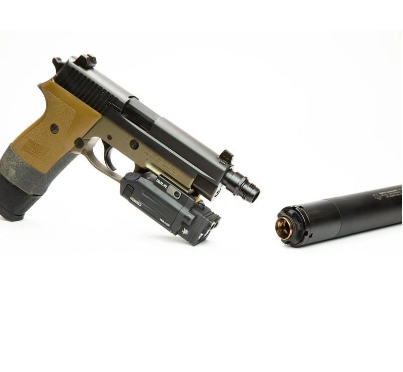 griffin armament cam-lok barrel adapters quick connect pistol suppressor quick detach can 1