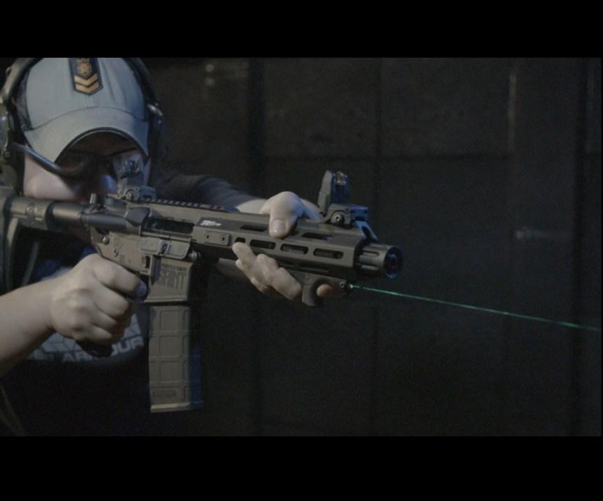 viridian weapon technologies hs1 laser handstop mlok handstop laser green beem 1