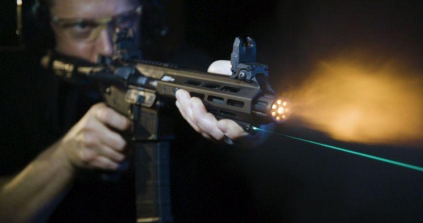 viridian weapon technologies hs1 laser handstop mlok handstop laser green beem 2
