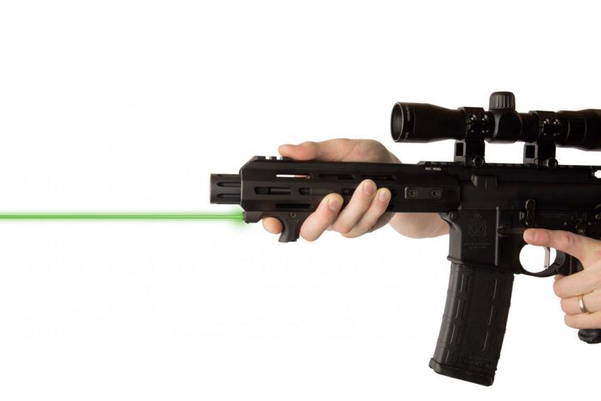 viridian weapon technologies hs1 laser handstop mlok handstop laser green beem 4