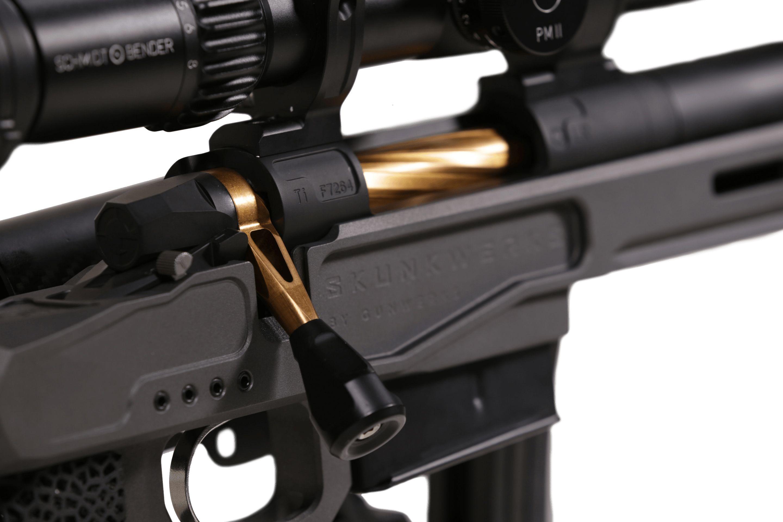 gunwerks lite sabr 338 rcm ruger compact magnum integrally suppressed bolt action rifle