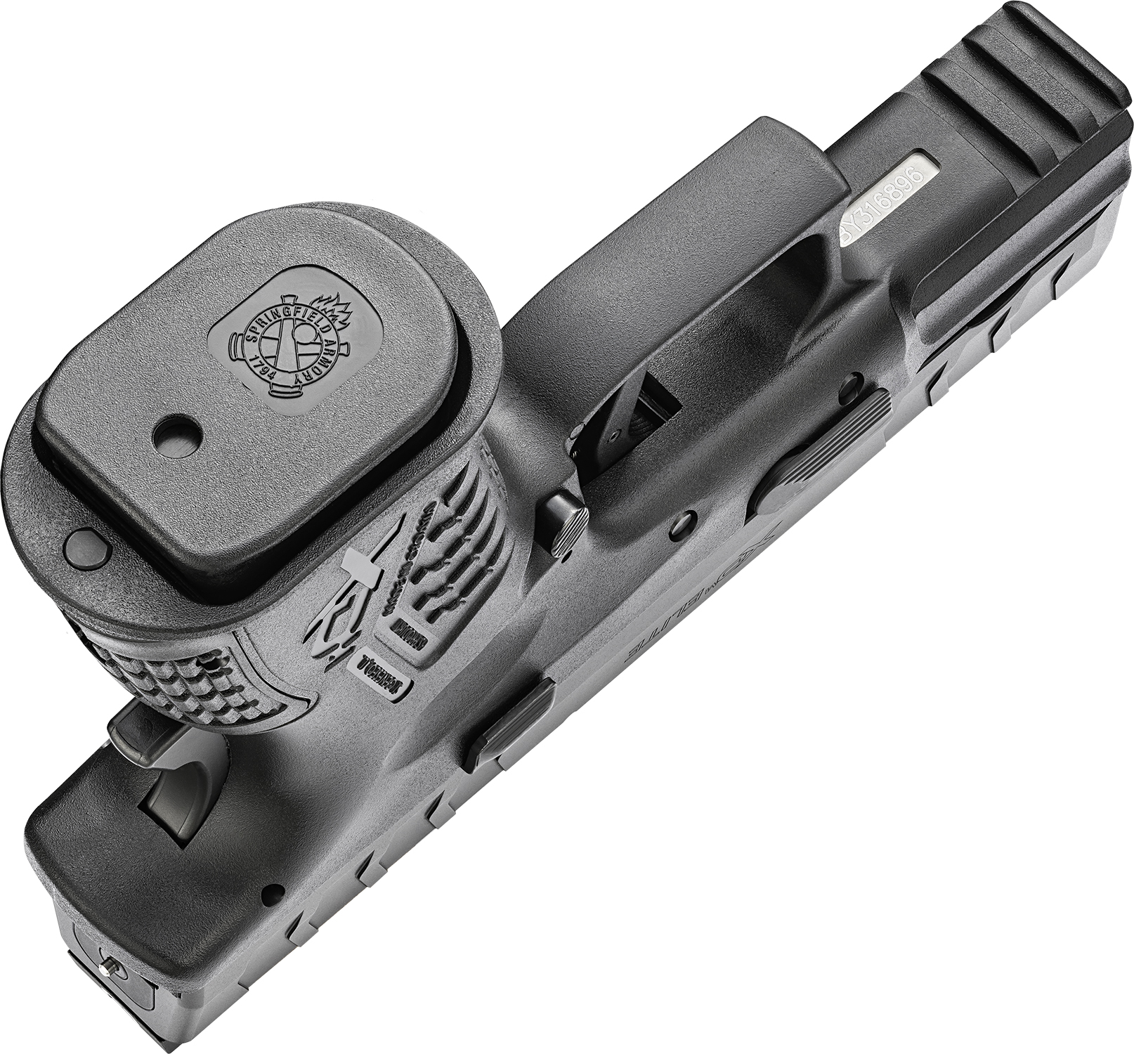 springfield armory xd-m elite 3.8 compact pistol 9mm concealed carry ccw gun