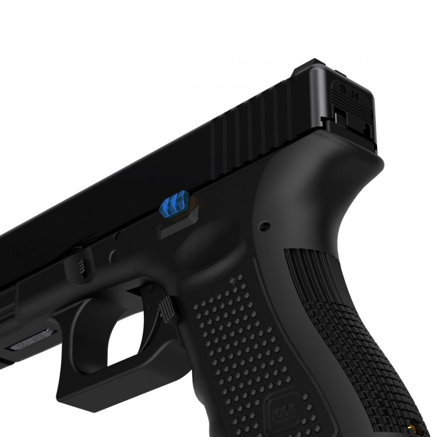 tyrant designs cnc glock gen 5 extended slide release 9mm double stack