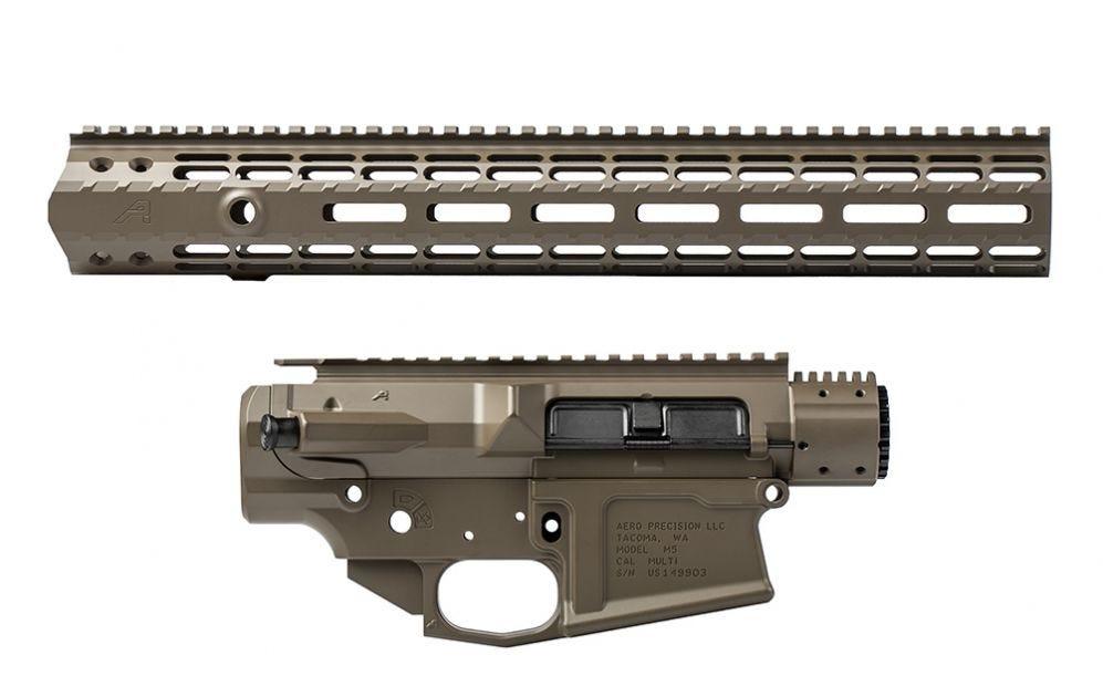aero precision patriot brown ar-15 builder sets ar15 cerakote