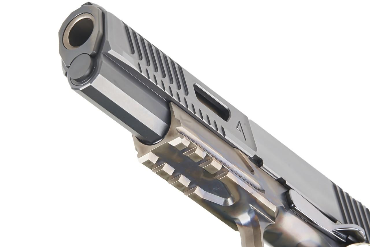 nighthawk custom agency arms vip agent 2 1911 slide serrations 45 acp custom slide work