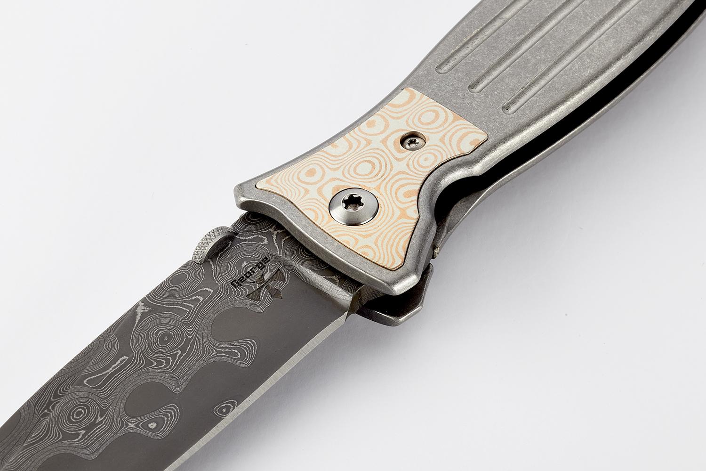 wilson combat wilson tactical CUSTOM ALLIANCE RAINDROP DAMASCUS HENCHMAN KNIFE