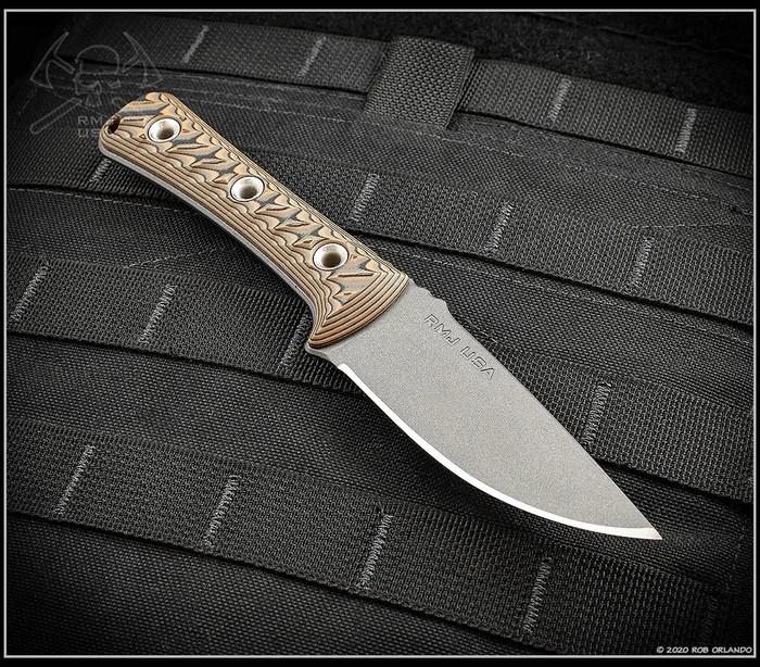 rmj tactical utsidihi fixed blade knife nitro-v knife steel