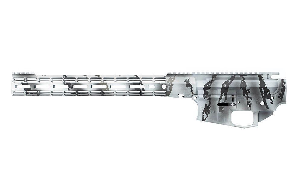 aero precision artic tundra builder set ar-15 custom cerakote