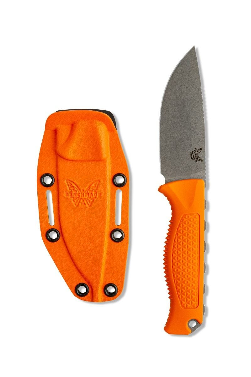 benchmade knife company benchmade knife 15006 steep country fixed blade knife drop point