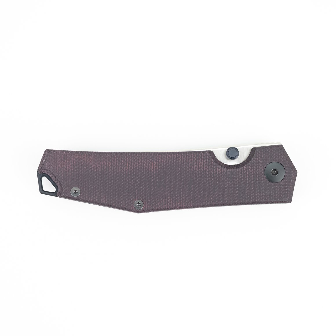 Giantmouse Knives ace clyde burgundy canvas micarta model