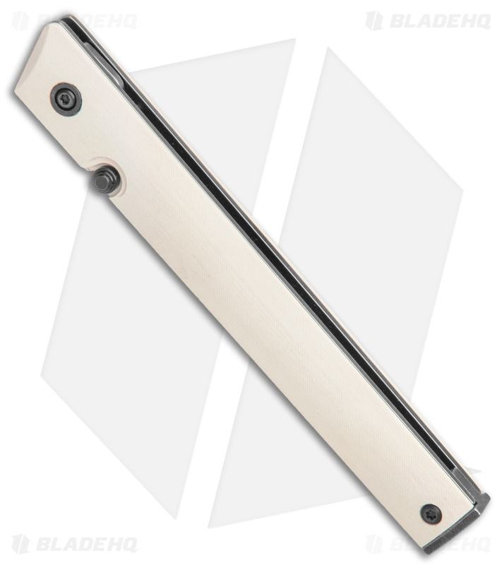 blade hq CRKT CEO white micarta handle knife knives pocket edc