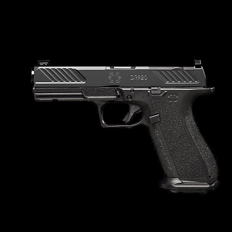 shadow systems corp dr920 full size 9mm glock 17 pattern pistol
