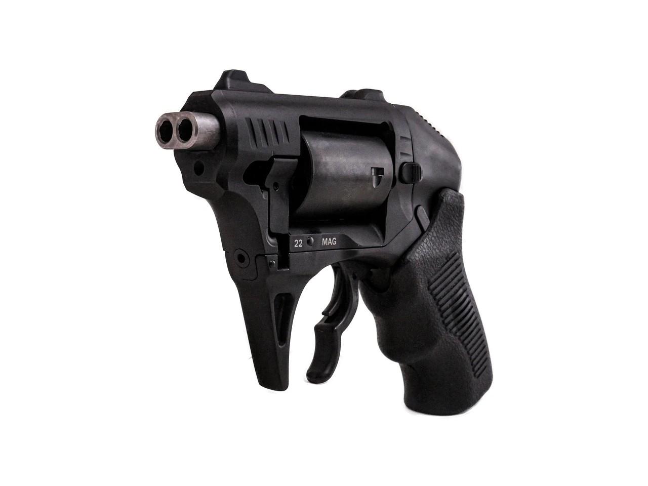 standard manufacturing thunderstruck s333 double barrel 22 magnum revolver