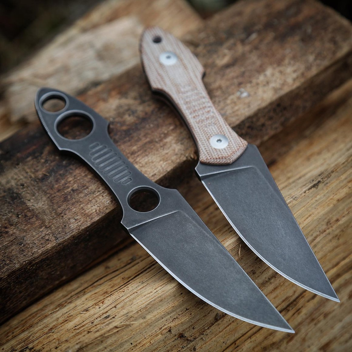 giantmouse knives gmf3-p fixed blade knife edc blade