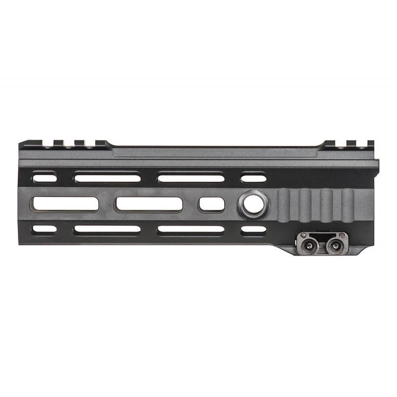 cross machine tool hdx rail mlok 6.7 inch rail