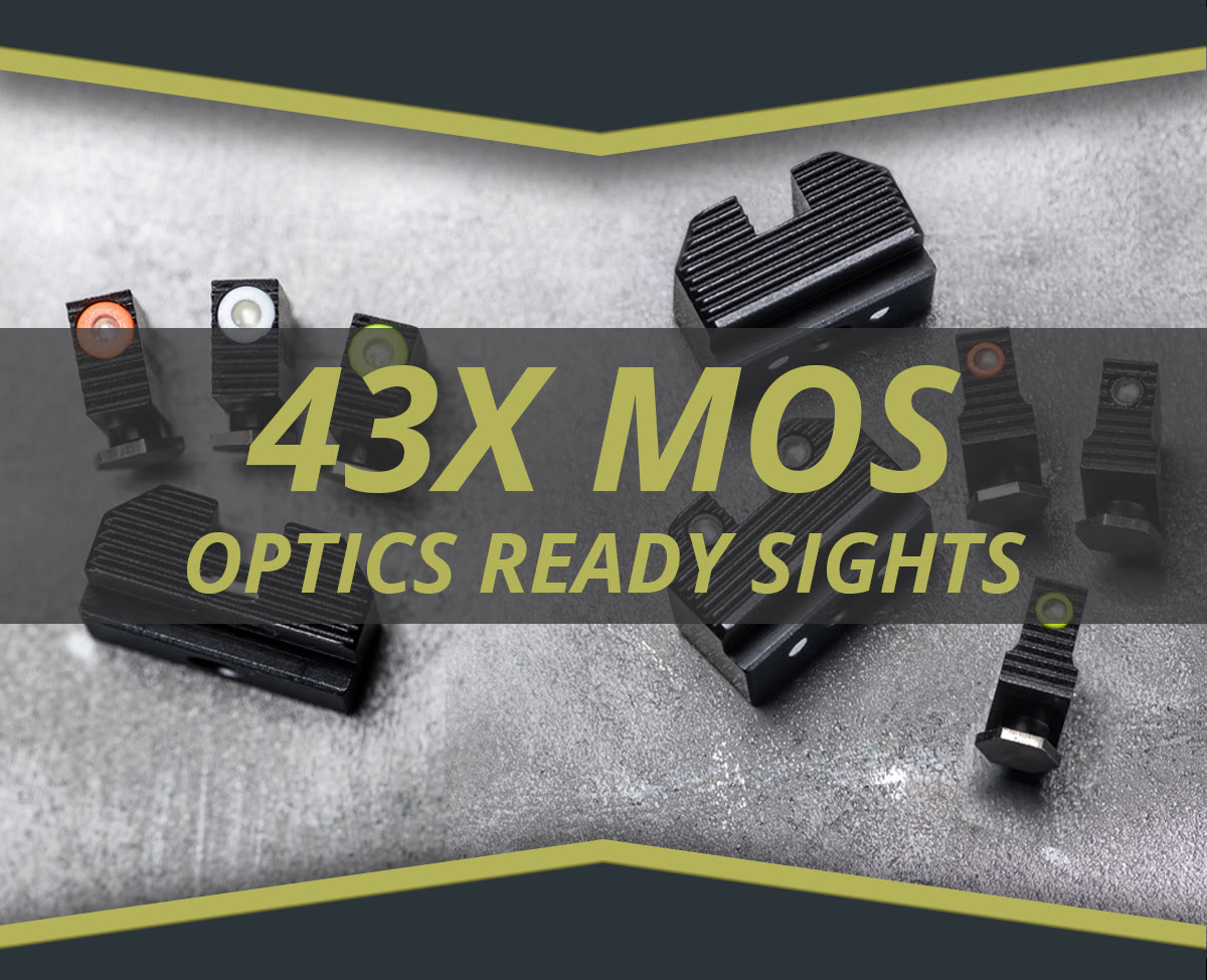 NIGHT FISION RELEASES NEW GLOCK 43X SIGHTS