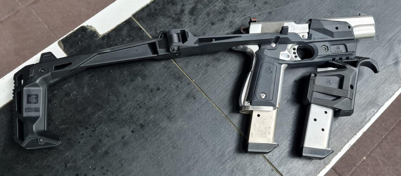 recover tactical 1911 stabilizer pistol brace
