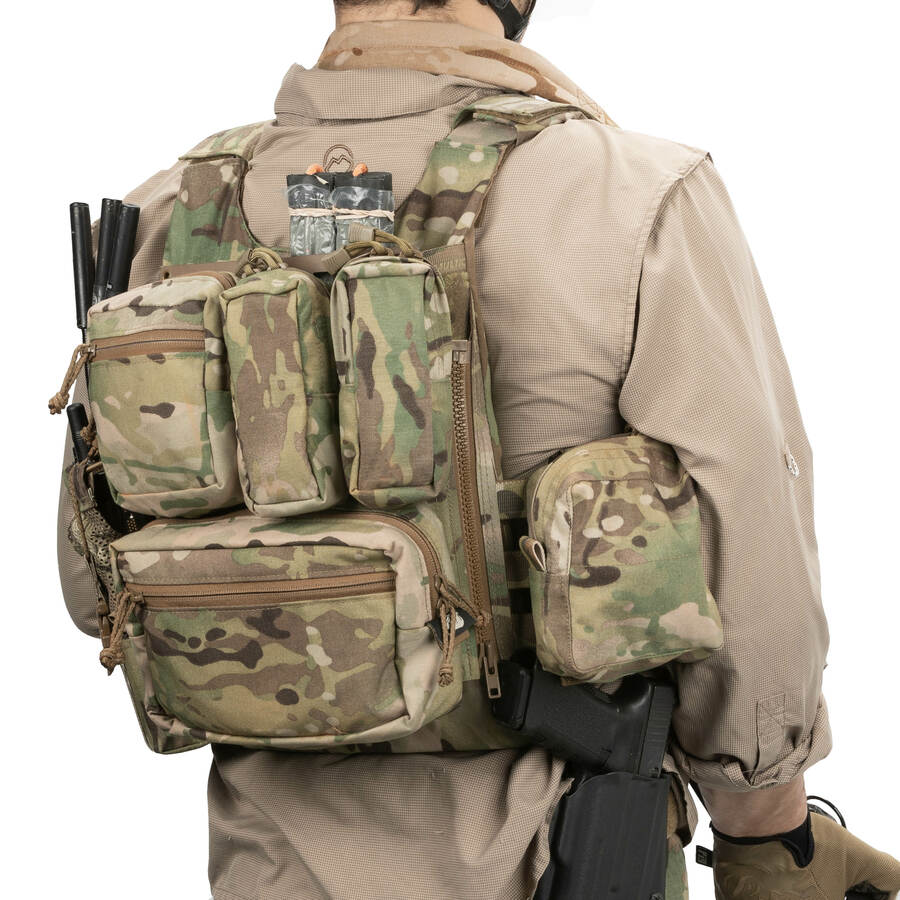 spiritus systems molle back panne lv 119 overt chest rig plate carrier