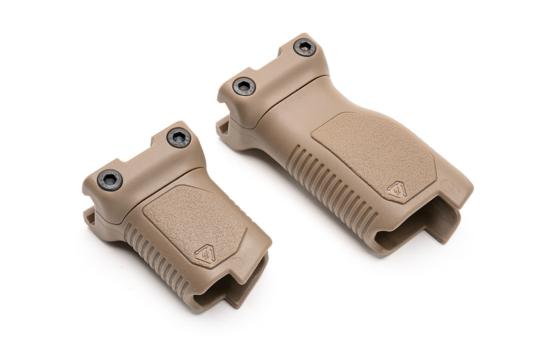 strike Industries angled vertical grip cable management picatinny rail