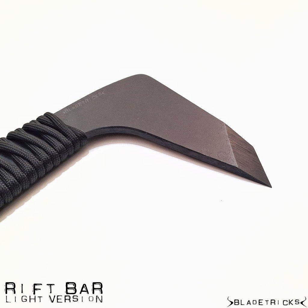 bladetricks light version rift bar edc blade bugout knife knives