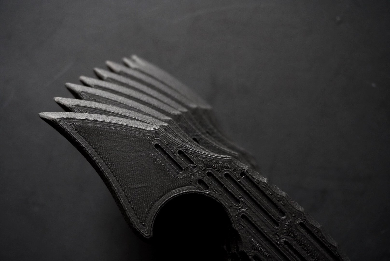 dull boy blades fang 3d printed knife knives non metallic tool