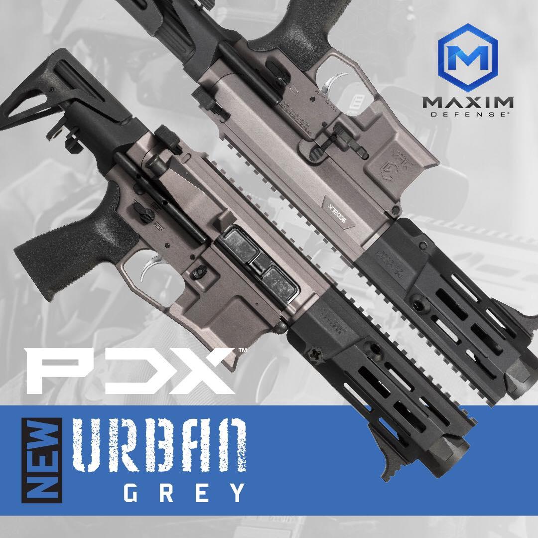 maxim defense urban grey pdx pdw ar-15 ar15 pistol ar-pistol 7.62x39 300blk