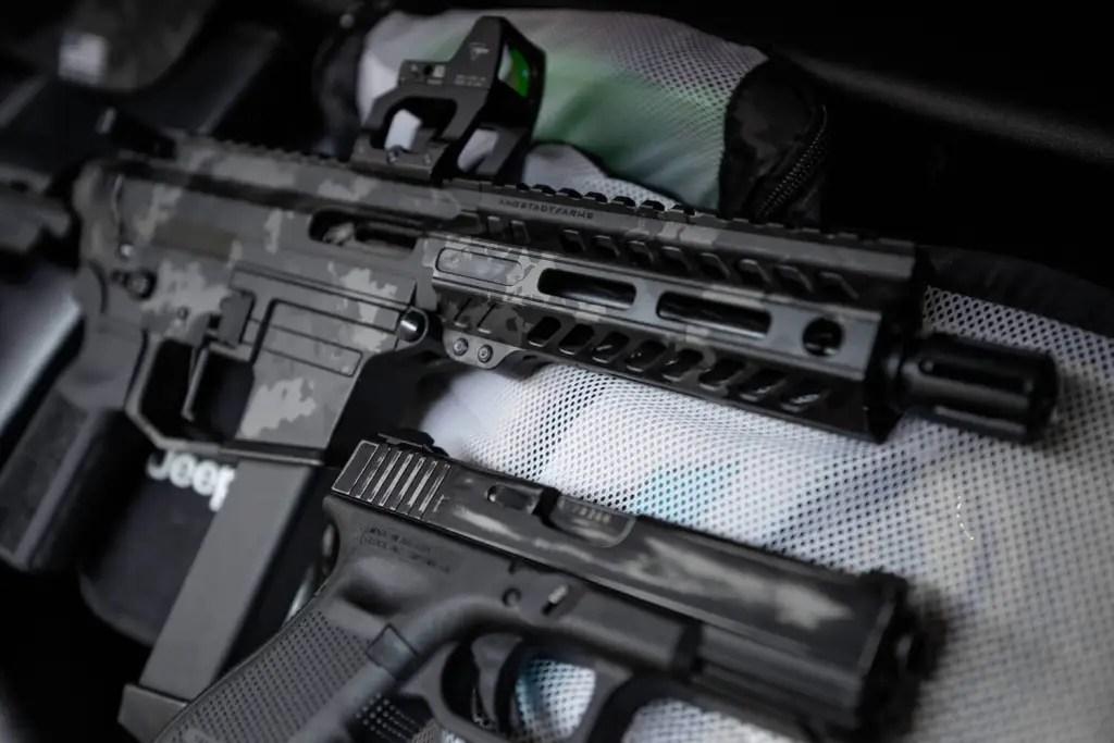 angstadt arms udp-9 pistol 9mm pcc cerakote