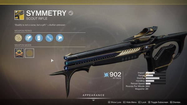 Destiny 2 - How to get Symmetry Exotic Scout Rifle - Attack of the Fanboy
