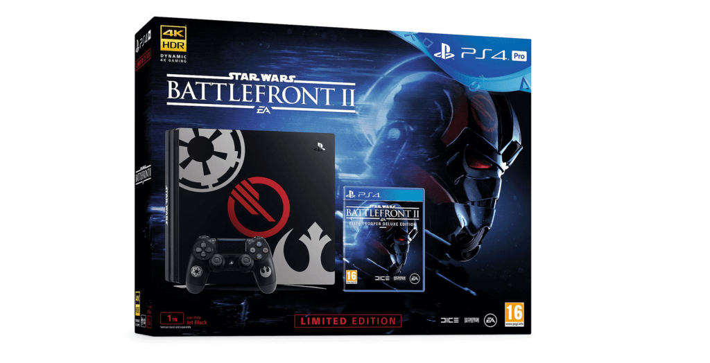 Star Wars Battlefront II Limited Edition PS4 Console