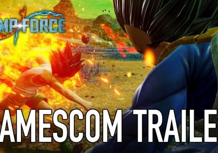 Jump Force Gamescom