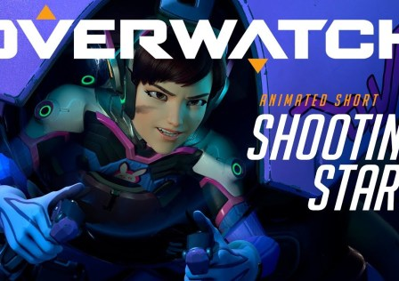 Overwatch Animated Short Shooting Star