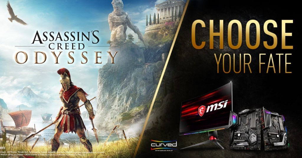 """MSI Announces """"Choose Your Fate"""" Game Bundle"""
