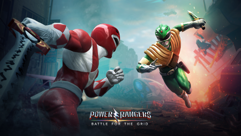 Power Rangers - Battle for Grid