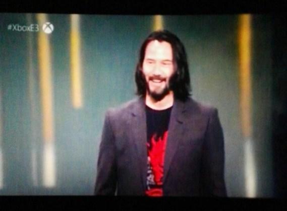 Xbox E3 2019 Keanu Reeves