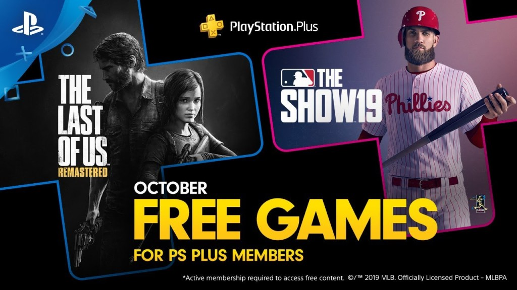 PlayStation Plus October