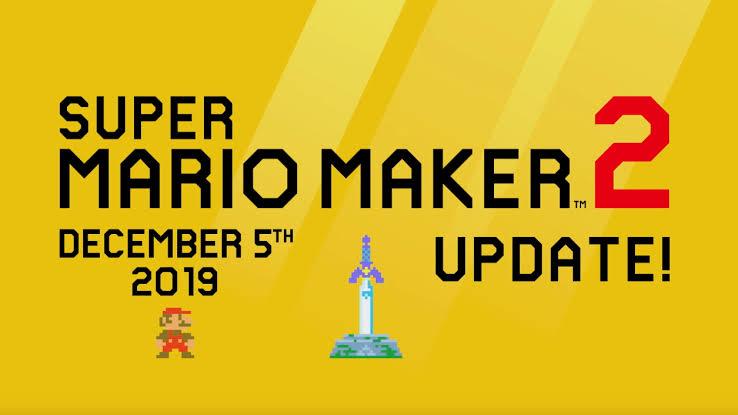 Super Mario Maker 2 Update