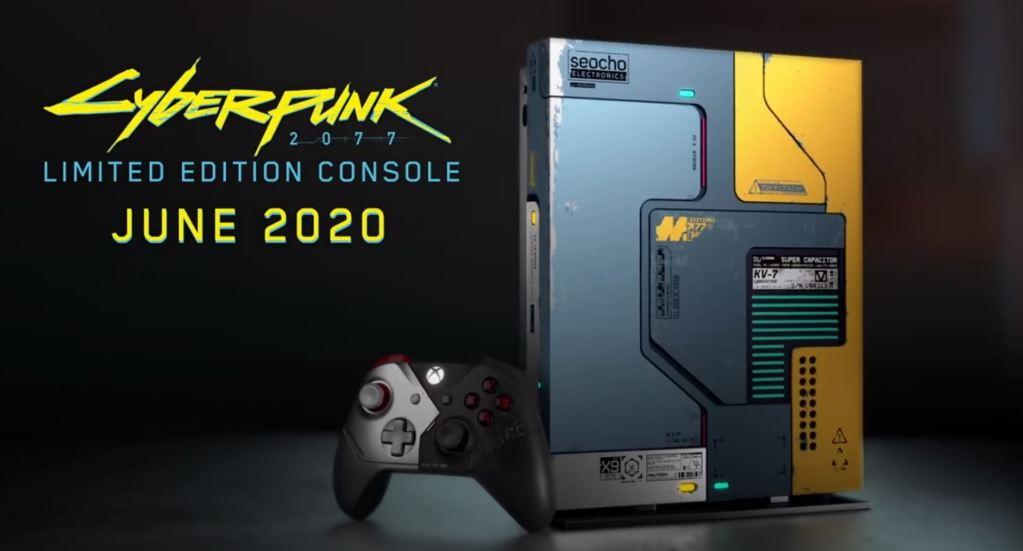 Cyberpunk 2077 Xbox One X Console Bundle