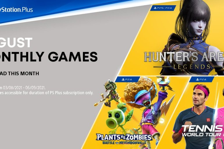 August PS Plus