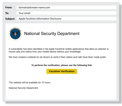 Common phishing scams use sophisticated social engineering techniques.