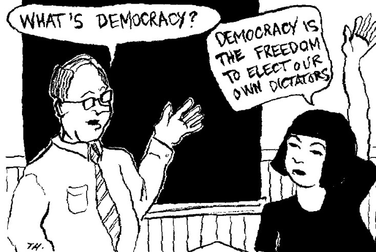 Image result for totalitarianism democracy