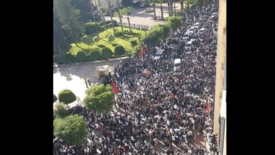 احتجاجات التلاميذ في المغرب