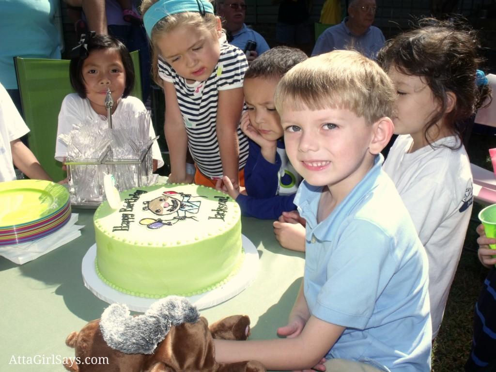 Scaredy Squirrel birthday cake at AttaGirlSays.com