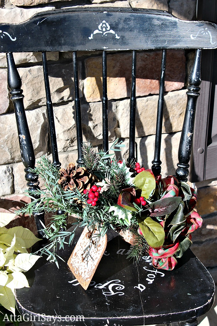 Christmas 2012 House Tour: The Front Porch