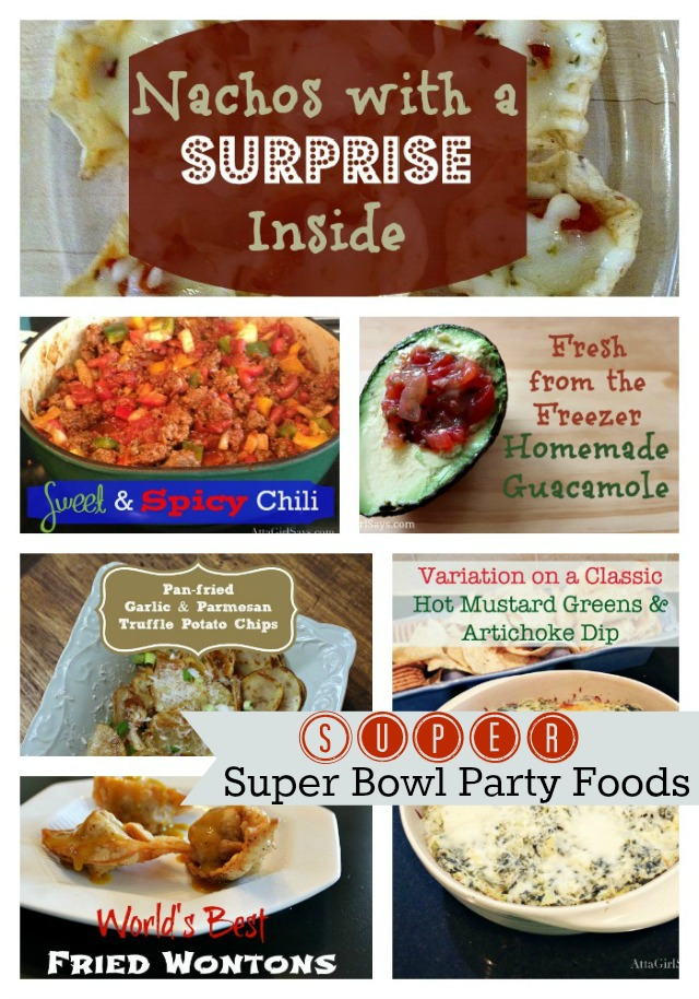 Super Easy and Delicious Super Bowl Party Food Recipes