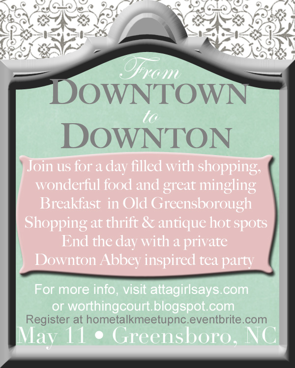 From Downtown to Downton NC bloggers meetup