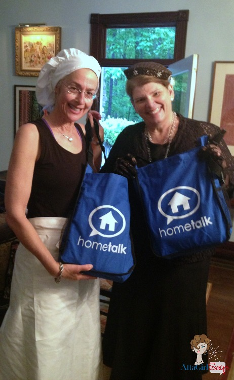 Hometalk Swag NC Bloggers Meetup Downton Abbey