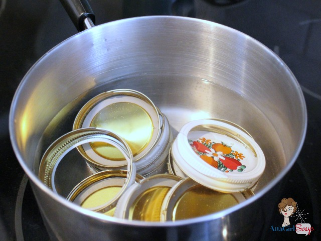 Boiling Lids for canning