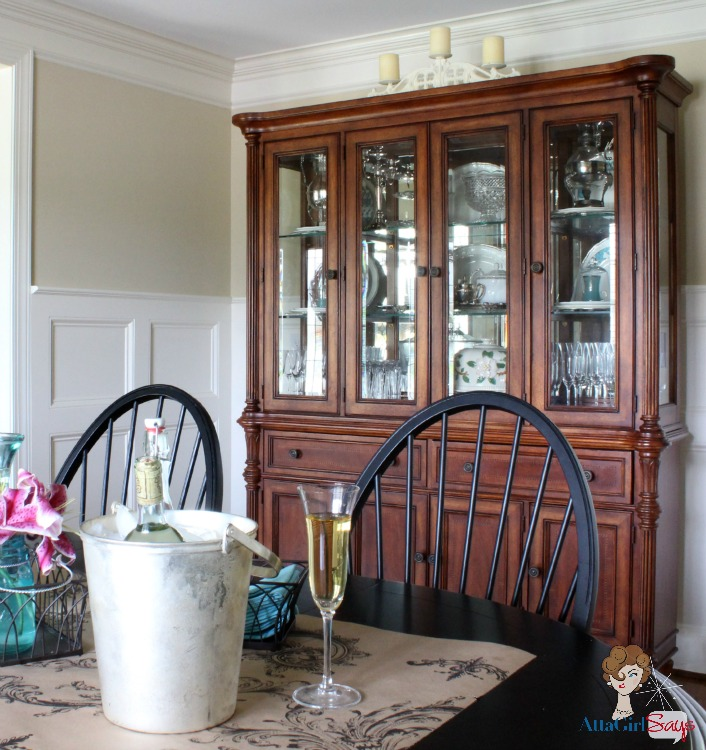 French Atta Girl Says: Dining Room China Cabinet