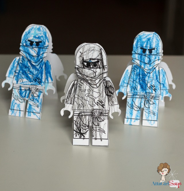 Lego Ninjago Birthday Party Invitations